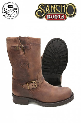 Sancho Boots BROWN CUSTOM ENGINEER
