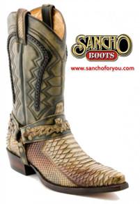 Sancho Boots Sinaloa Arena Piton