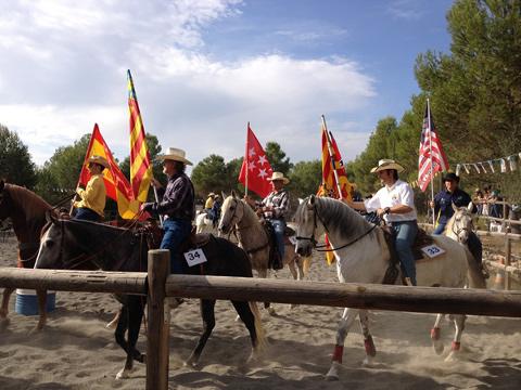 Campeonato Nacional Monta Western Valencia