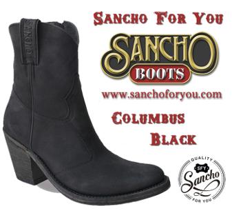 Sancho Boots Columbus Black
