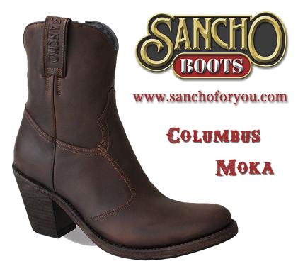 Sancho Boots Columbus Moka