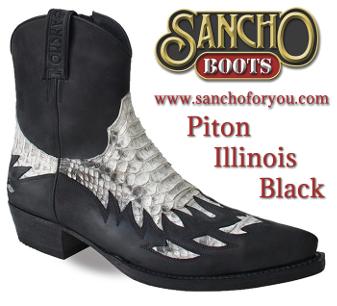 Sancho Boots Illinois Black