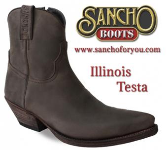 Botines Sancho Boots Illinois Testa