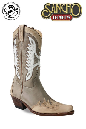 Sancho Boots White Eagle