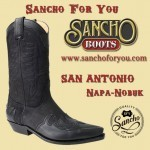 Texan Boots San Antonio, a classic cowboy boot with personality.