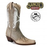 Boots and boots in spring summer 2014: Sancho White Eagle ideal with dresses